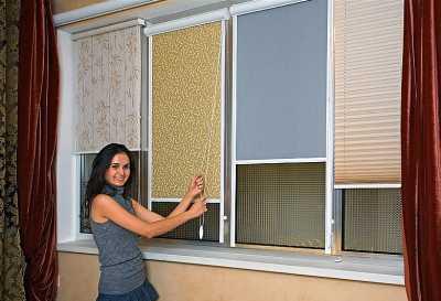 Стоящие жалюзи и шторы