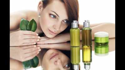 Товары в магазинах красоты и здоровья