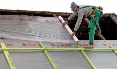 Пароизоляционная пленка для крыши